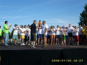 2008 Simpatisanten des Bootsverleihs gewinnen der Salzgitter Drachen- Boot- Cup